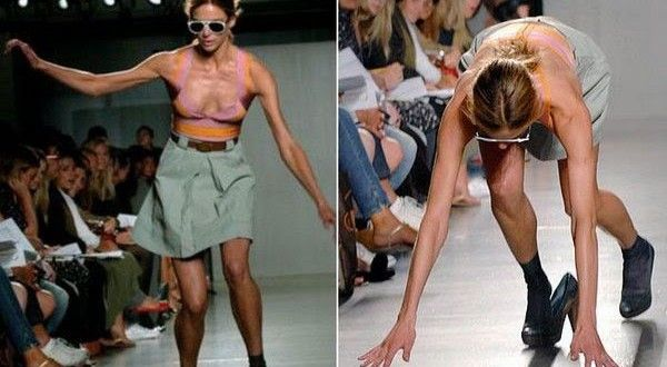 TOP 10 cele mai tari cazaturi pe podiumurile de moda - Eu, Femeia ツ