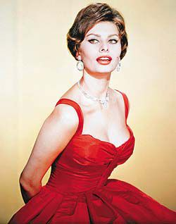 Sophia Loren Dresses