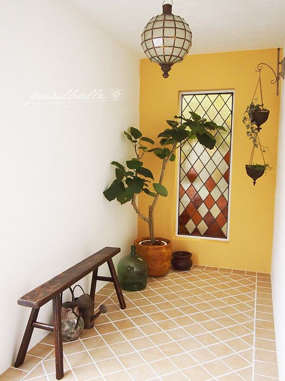 古い納屋をリフォームしたナチュラル・プロヴァンスなお家のインテリア の画像|賃貸マンションで海外インテリア風を目指すDIY・ハンドメイドブログ<paulballe ポールボール>