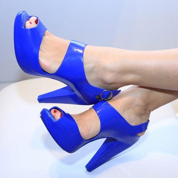 Melissa Blue Shoes