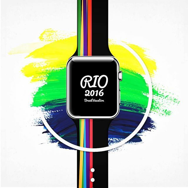 Rio 2016 Olympic  #rio2016 #rioolympics #olympics #bio #applewatch #sport #swimming #athletic #running #football #soccer #basketball #volleyball #tennis #golf #baseball #hockey #cycling #gymnastics #sailing #boxing #judo #taekwondo #neversaynever #sportwear #bands
