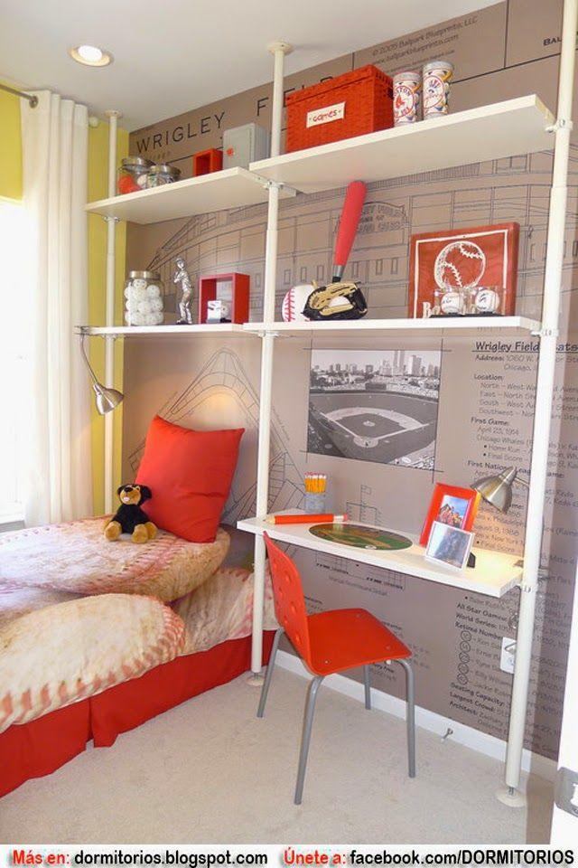 Decorar habitaciones peque as de ni os dormitorios for Dormitorios infantiles y juveniles