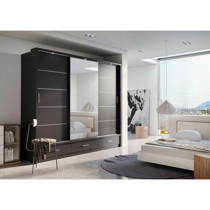 Tengan 3 Door Sliding Wardrobe In 2020 Wardrobe Design Bedroom Apartment Interior Sliding Doors