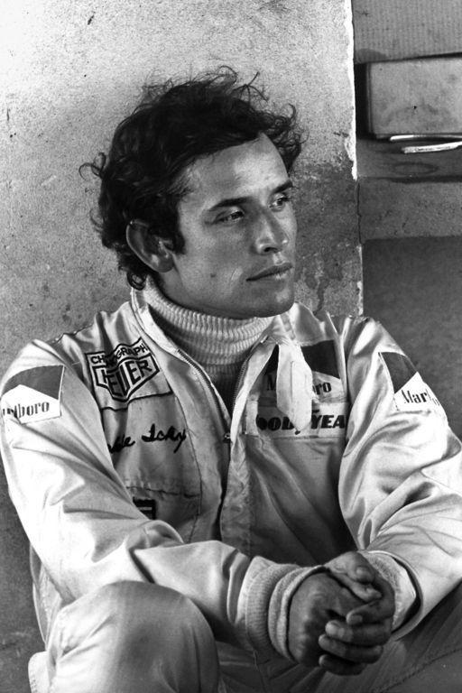 "Jacques Bernard ""Jacky"" Ickx (1945) - Belgian former racing driver. Photo Bernard Cahier, Brazil 1973"