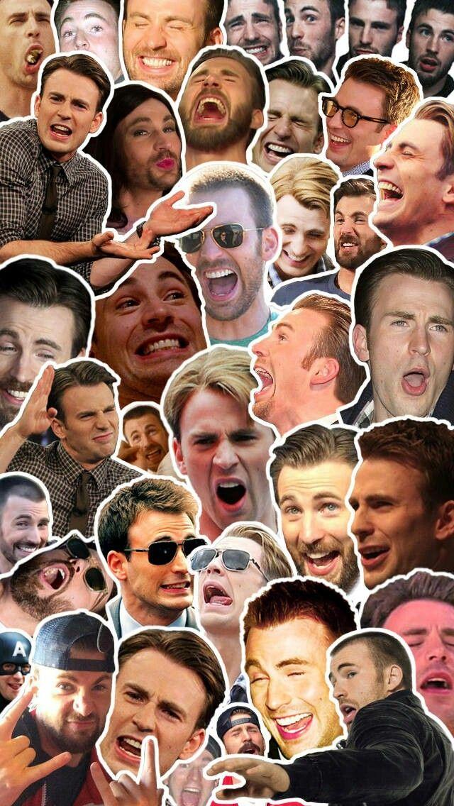 Chris Evans | My new wallpaper lol <3<3<3 -B.R.