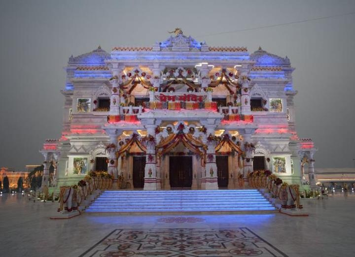 Prem Mandir, Vrindavan, India | India, Hindu temple, The