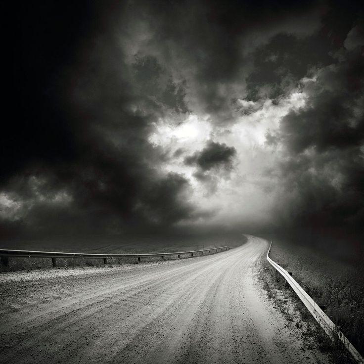 fotografia krajobrazu czarno-biała