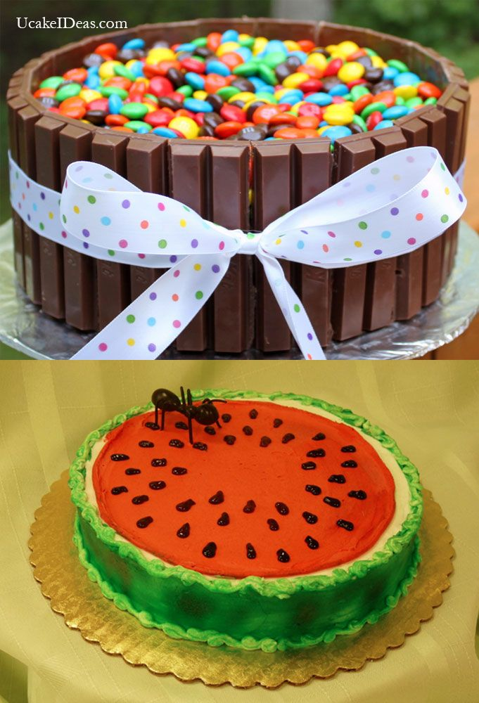 Simple cakes, Cake ideas and Cake designs on Pinterest
