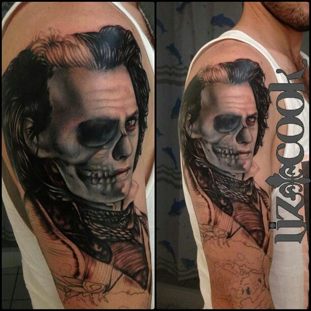 17 best images about tattoo artists on pinterest grace o for Sweeney todd tattoo