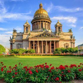 News of St. Petersburg, cartaz, companhias de catálogo, Tempo