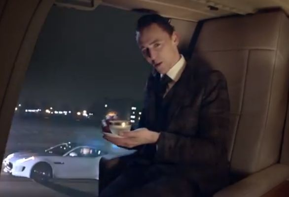 Evil Brits star in Jaguar's first-ever #SuperBowl commercial! Which other actors will be joining British 'Thor' actor #TomHiddleston? Click on the image to find out and watch the blockbuster ad!