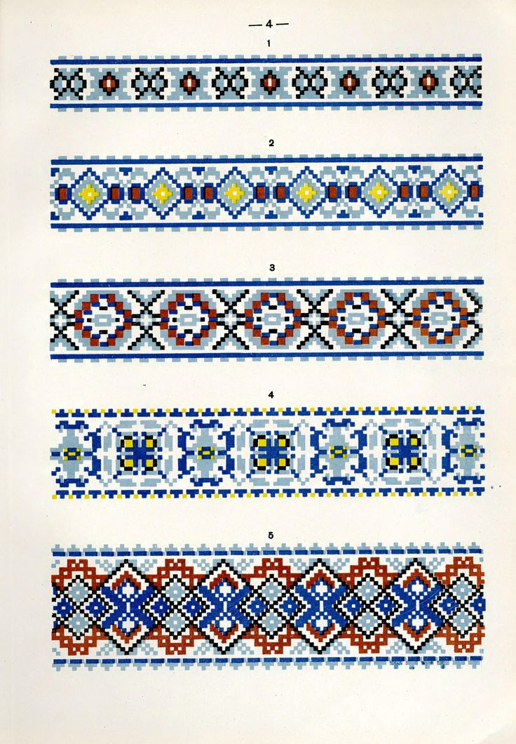 https://flic.kr/p/fQshMh | Белорусский народный орнамент - 1953_94 | Belarusian ethnic embroidery