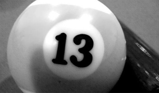Triskaidekaphobia  Fear of the number 13