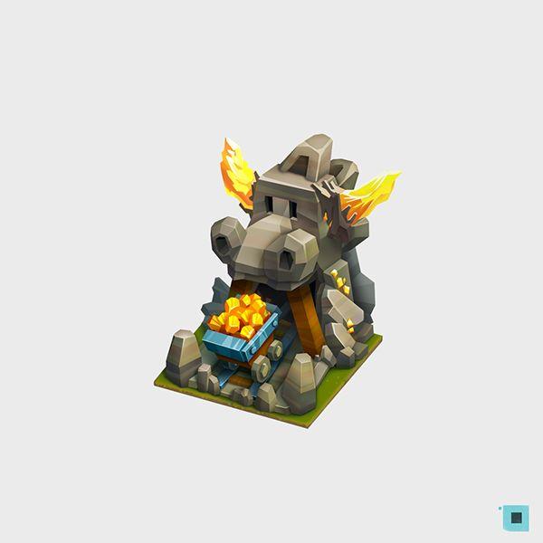 castle on Behance