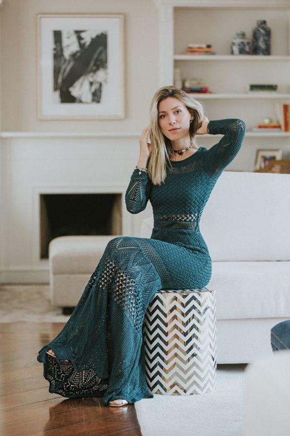 Häkelkleid Muster   – crochet