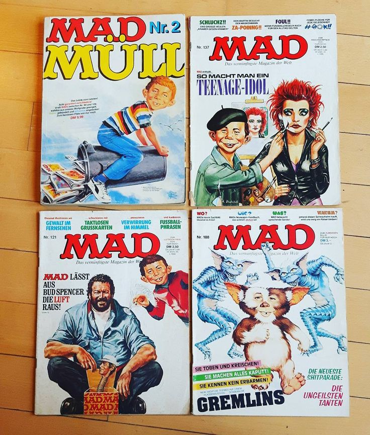 "160 Me gusta, 13 comentarios - Frater Aloisius (@frater_aloisius) en Instagram: ""What me worry? 💛💚💙#madmagazine❤♡💙 The literature that I grew up with.  This post is dedicated to my…"""