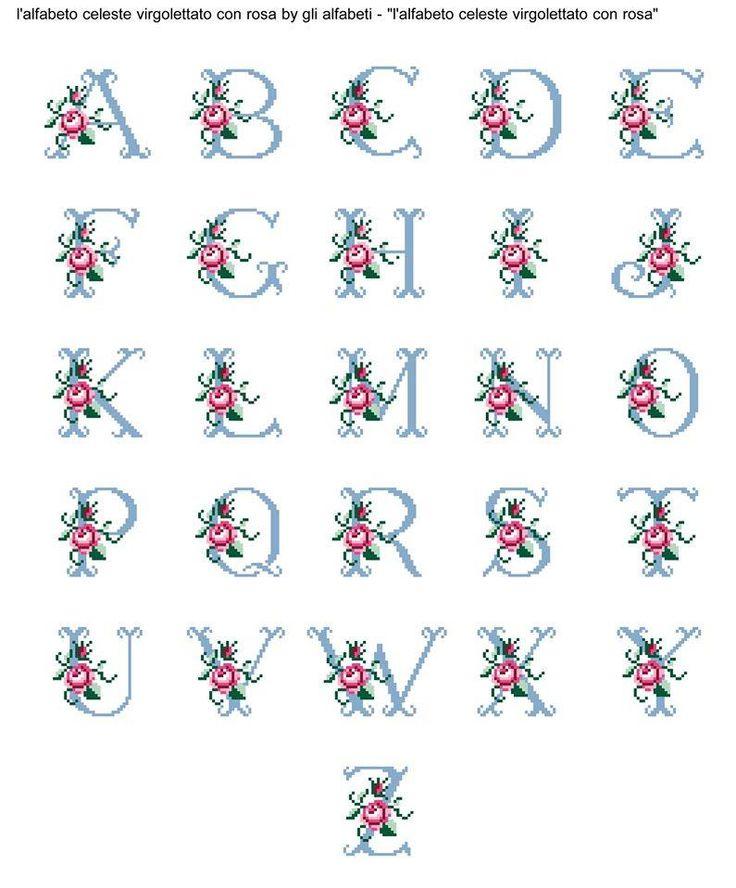 LE CREAZIONI DI CRIS ... di tutto ... un pò: PORTACHIAVI con ricami mignon ... regalini di Natale ... rose e alfabeto
