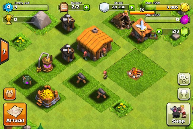 ... Clash of clans o