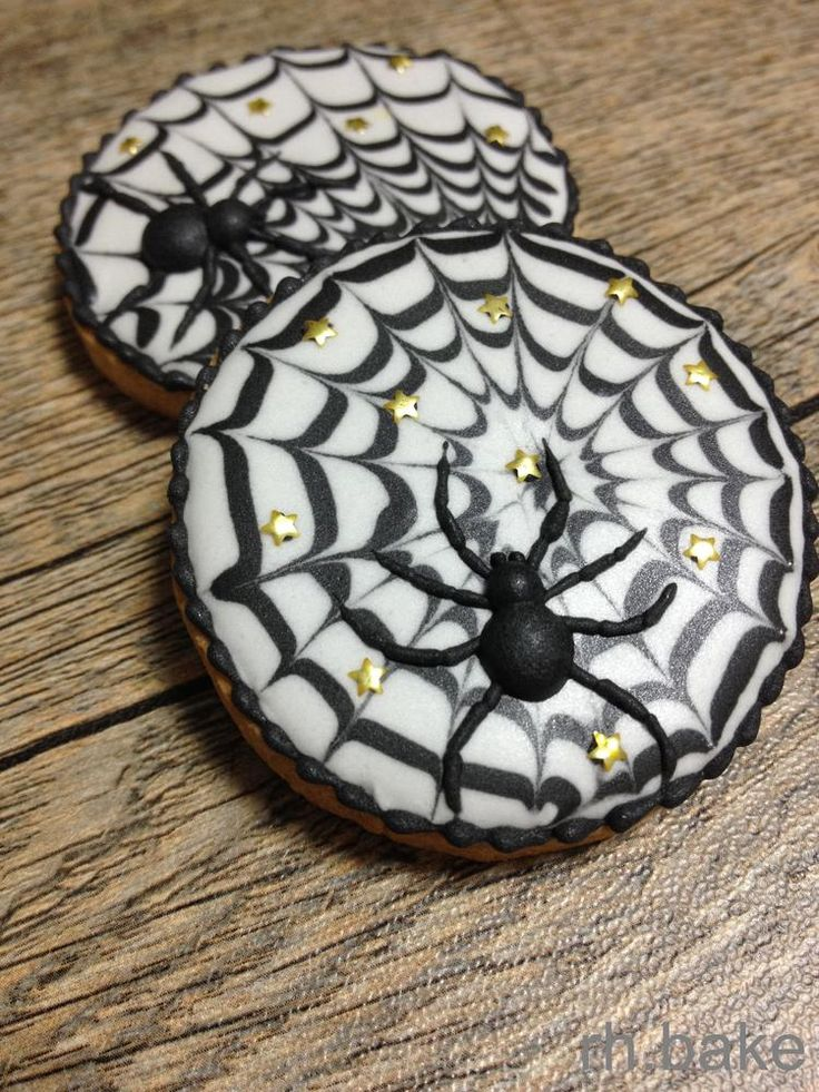 spiders at night | Cookie Connection