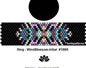 Peyote ring patternPDF-Download 003R beading pattern