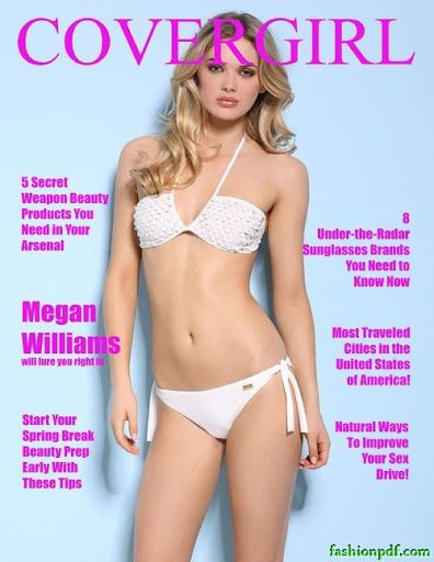Megan Williams - Covergirl Magazine March 2016