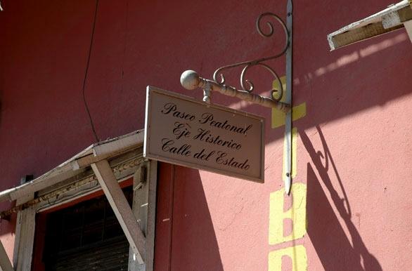Calle del Estado - Rancagua - O´Higgins - Chile #places