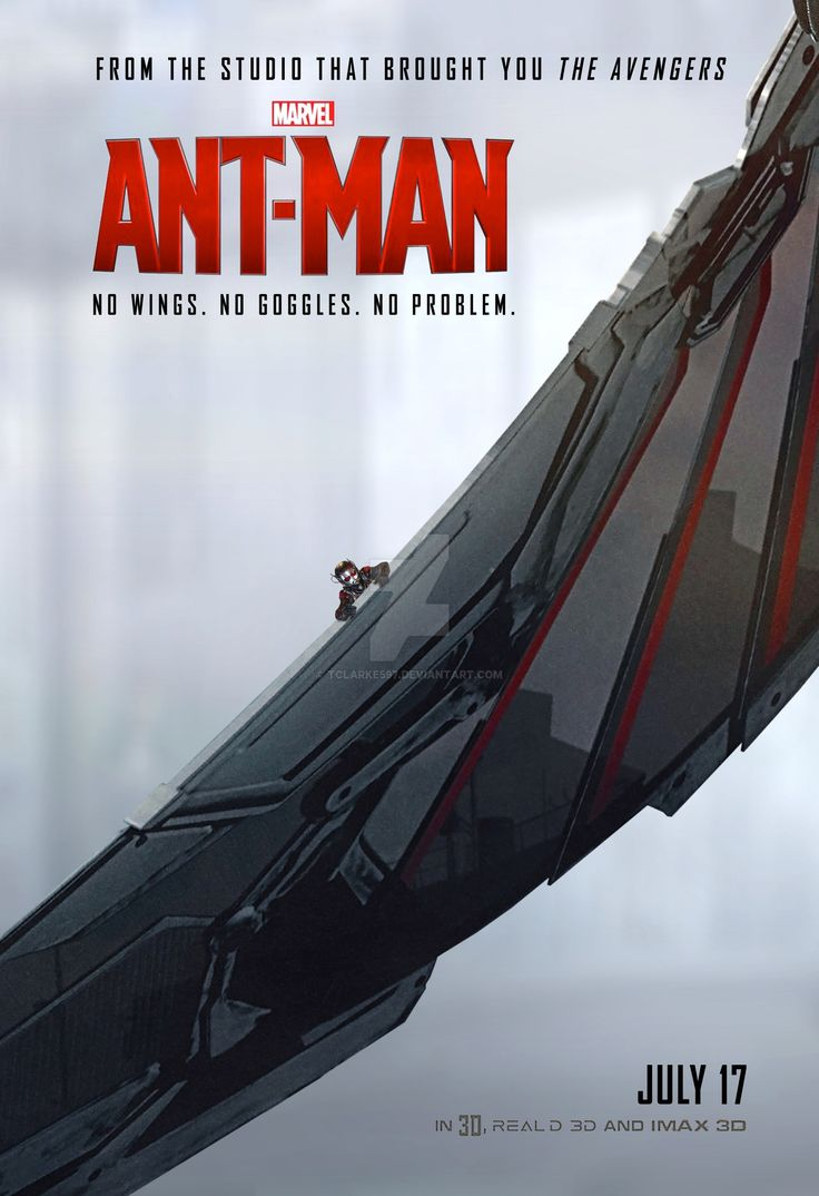 'Ant-Man' Poster (Falcon) by Thomas Clarke