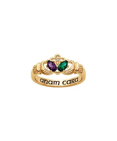 24 best gold claddagh ring images on Pinterest