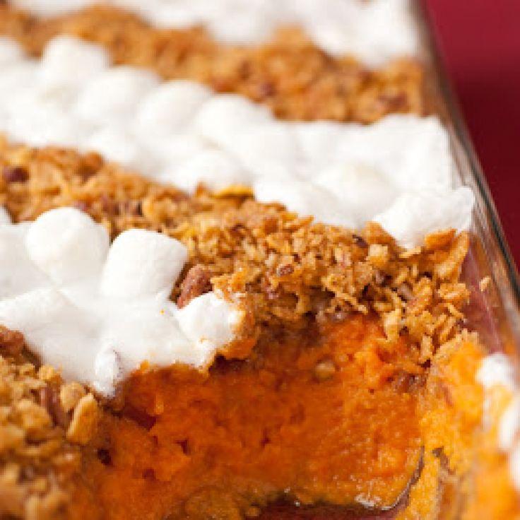 recipe: sweet potato casserole paula deen marshmallow [8]