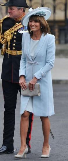 Las mejor vestidas de la Boda Real Carol Middleton