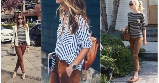 Cómo combinar un pantalón café:¡ideas para tus outfits!
