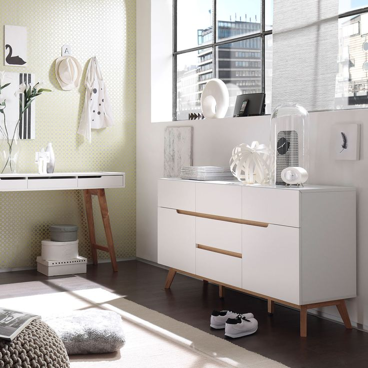 Weiße Möbel: Weiße Möbel Hellen Den Raum Auf! #interiordesign #interior