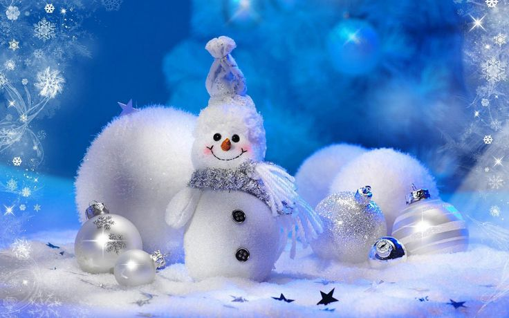 Christmas snowman wallpaper | Tag: Snowman Wallpapers, Backgrounds, Photos, Pictures,and Images for ...
