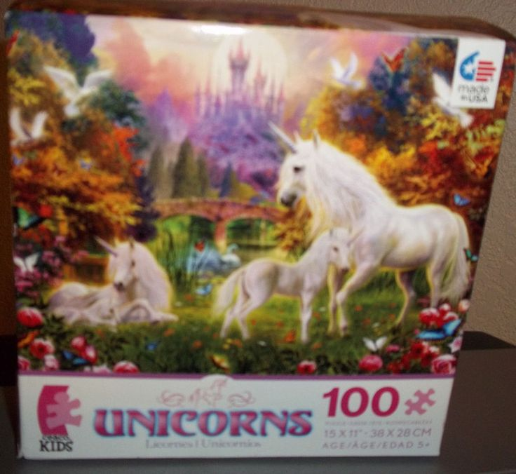 Unicorns Ceaco Kids Jigsaw Puzzle 100 Pieces NEW in Toys & Hobbies, Puzzles, Contemporary Puzzles | eBay