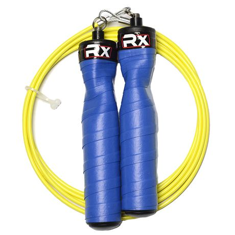 Rx Smart Gear - Rx Jump Ropes, $42.95 (http://www.rxsmartgear.com/rx-jump-ropes/)