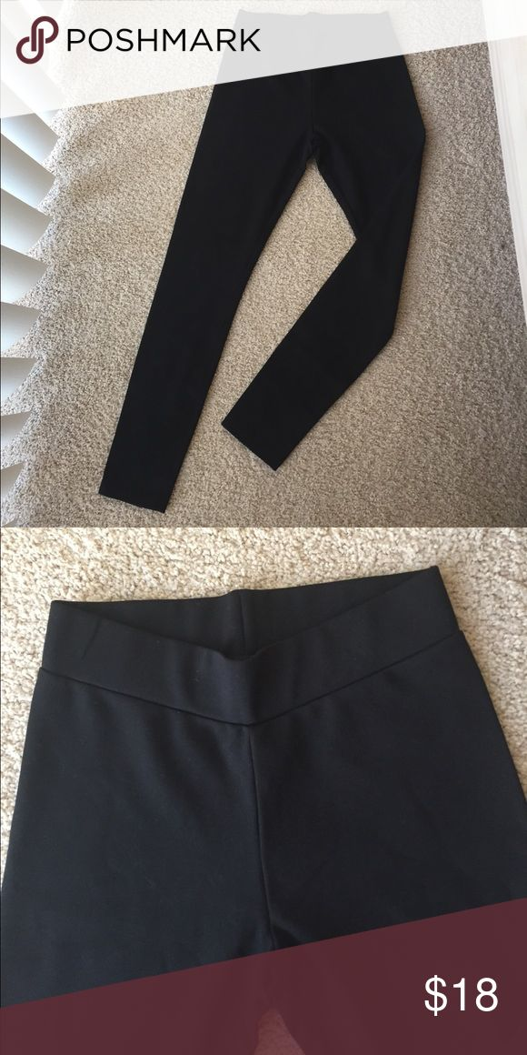 NWOT Lou & Gray black leggings These are high quality thick black legging made from rayon and spandex. Great stretch. Purchased from The Loft and never worn. Lou & Grey Pants Leggings