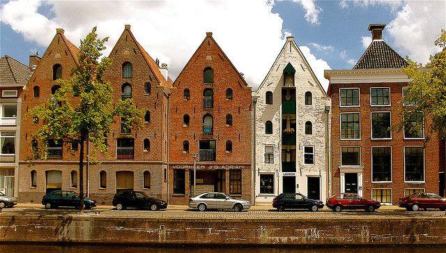 | ♕ | Old warehouses - Groningen, NL | by © Akbar Simonse