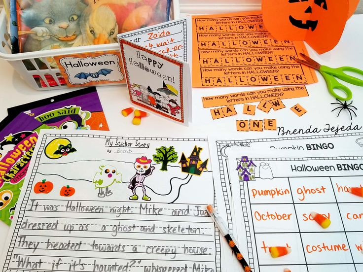 17 Easy, Free (or Almost Free) Halloween Center Ideas!