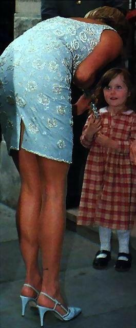 Princess Diana--She had such beautiful legs--