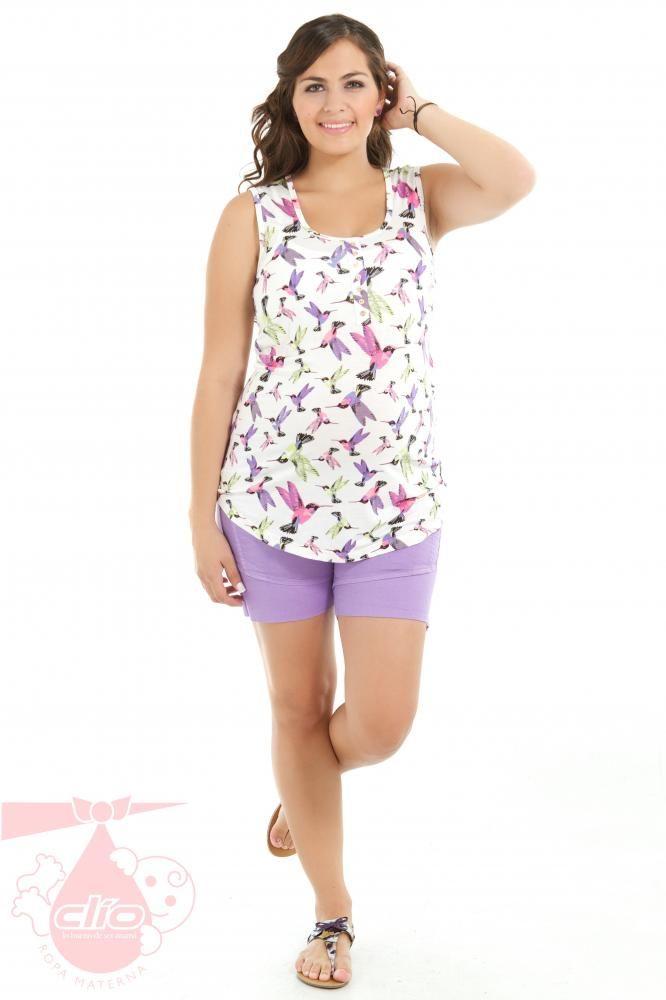 Encuentra #ropa #materna #moderna y cómoda en www.clioropamaterna.com.  #Moda para #embarazadas.