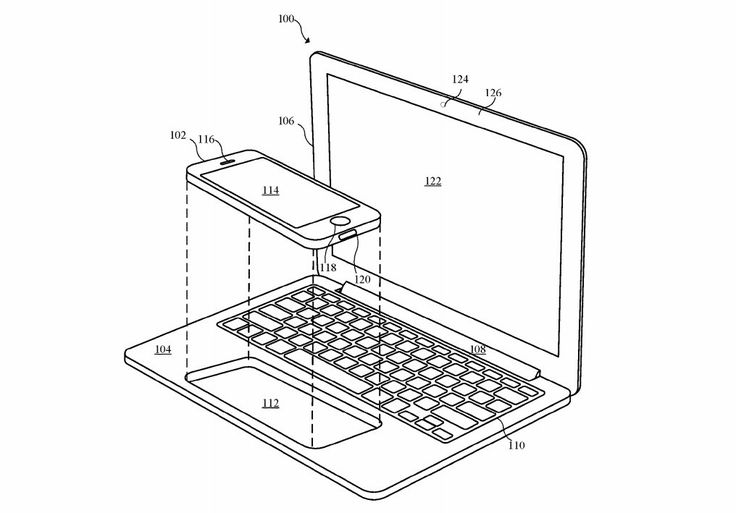 Apple explores using an iPhone or iPad to power a laptop. https://www.engadget.com/2017/03/23/apple-explores-using-an-iphone-or-ipad-to-power-a-laptop/