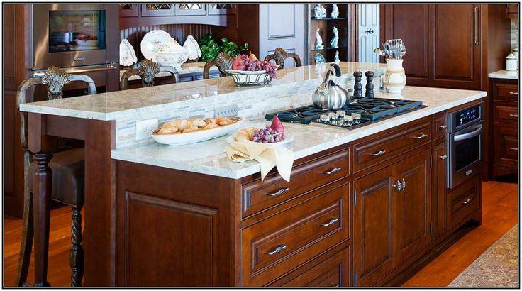 kitchen island with cooktop design modern
