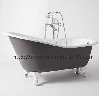 17 melhores ideias sobre banheira de ferro fundido no for Banera hierro fundido