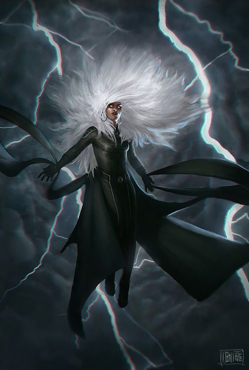 Storm by Mehmet Ozen ( Memed )  More X-Men @ http://groups.yahoo.com/group/Dawn_and_X_Women & http://groups.google.com/group/Comics-Strips & http://groups.yahoo.com/group/ComicsStrips ~Inge~ @ http://www.facebook.com/ComicsFantasy & http://www.facebook.com/groups/ArtandStuff