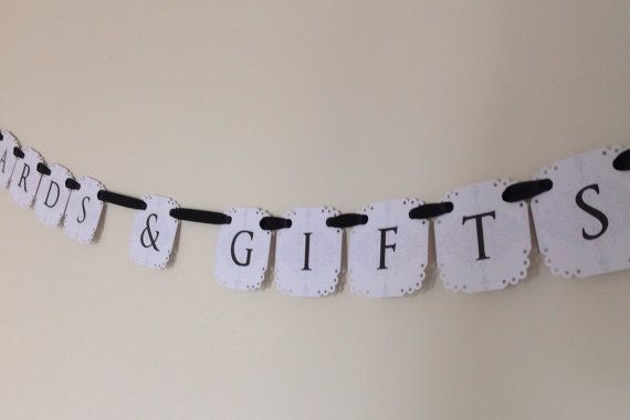 Cards & Gifts Mini Banner for Wishing Well by CreativePapier, $20.00