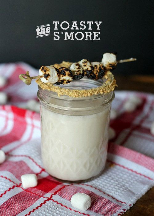 Cocktail Friday ~ The Toasty S'more
