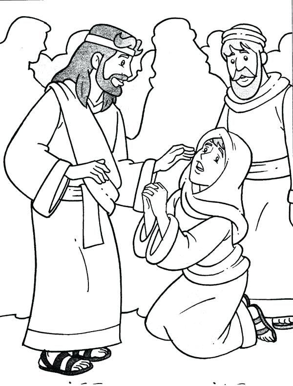 Jesus Heals Jairus Daughter Activities Miracles Of Jesus Jesus