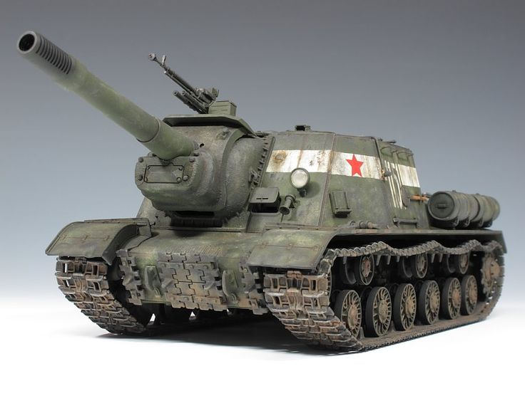 ISU-152 Tank Destroyer (Soviet Union)
