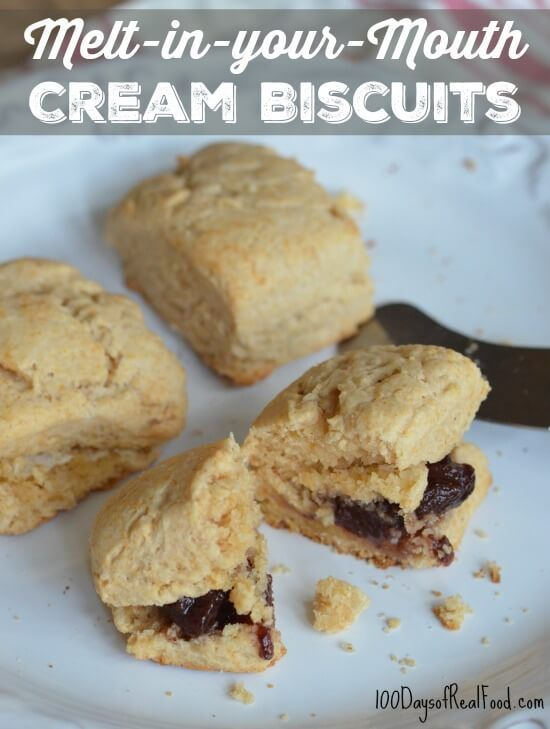 """I knew this recipe for Cream Biscuits was a hit when my daughter kept saying, """"Why are these so good?"""" They are good and SO incredibly easy to make."""