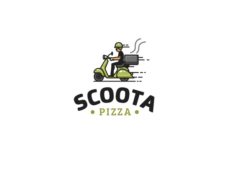 Pizza delivery logo proposal